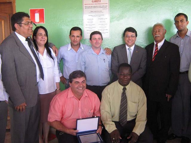 Inauguração casa de recuperação GAREVI que fizemos em Sertãozinho