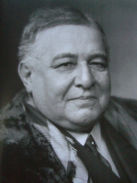 Léon Daudet par Nadar vers 1930