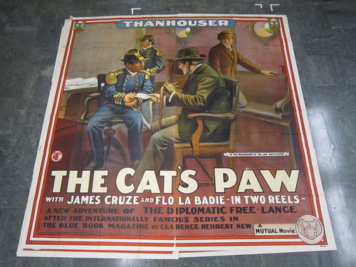 The Cat's Paw poster- version 3