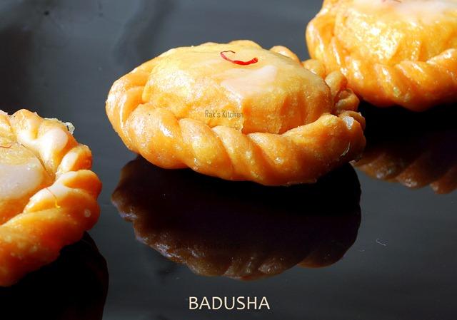 Badusha Recipe Rak S Kitchen