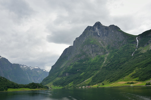Mountain above Nærøfjorden