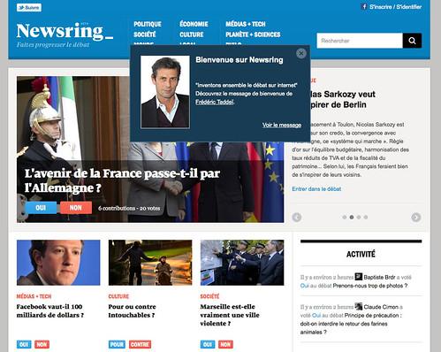 Newsring: aseptiser le débat sur internet