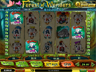 free Forest of Wonders slot ball bonus