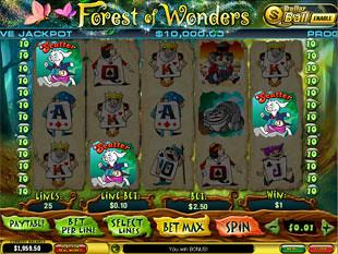 free Forest of Wonders slot ball bonus