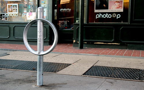 Parking Meter Bike Rack