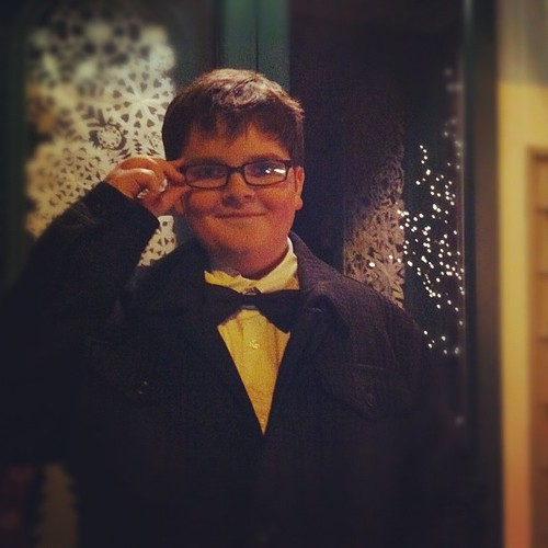 bow ties are cool :: Adam, 12