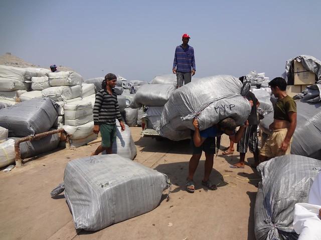 Traficantes iranianos em Khasab, Musandam Omã
