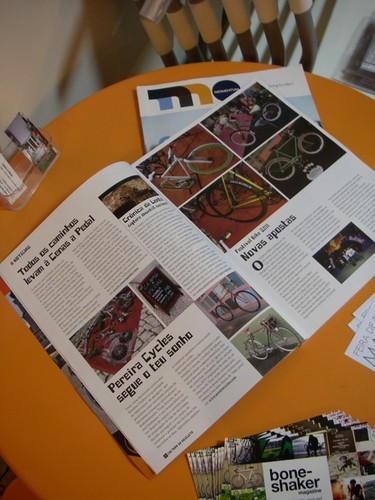 Cenas a Pedal na revista B - Cultura da Bicicleta n.º 1