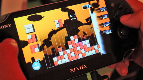 PS Vita -- Lumines: Electronic Symphony