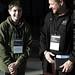 Arman Sedgwick Billimoria & Neville P. Billimoria in a break between sessions of TEDxSanDiego     MG 3991