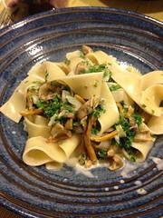 penne(0.0), produce(0.0), carbonara(0.0), vegetable(1.0), vegetarian food(1.0), pappardelle(1.0), pasta(1.0), fettuccine(1.0), food(1.0), dish(1.0), cuisine(1.0),