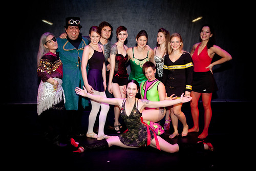 tenderina at frenetic core theater
