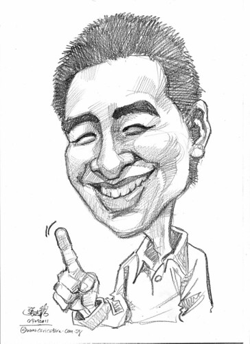 caricature in pencil - 09092011 - 1