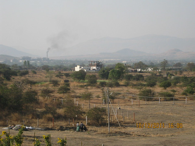 View of the New Cricket Stadium, Somatane Phata and Sugar Factory Area from  Kolte-Patil Life Republic, Marunji - Hinjewadi, Pune 411 057