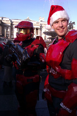 Halo Santa at Santacon 2011