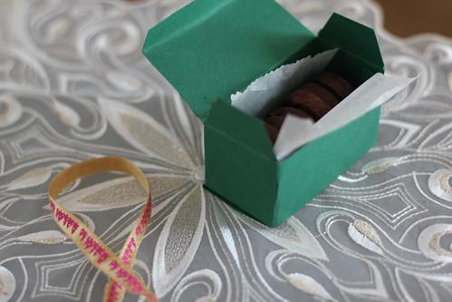 Schokoladen Matcha Kekse