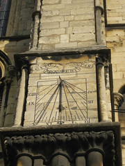Sundial, Lincoln Cathedral 18.10.2009