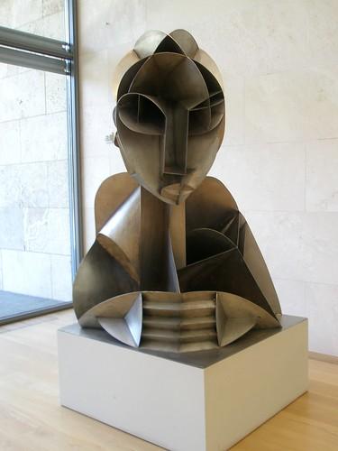 Naum Gabo 'Constructed Head #2'