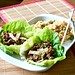 asian lettuce wraps w/ fried rice 3