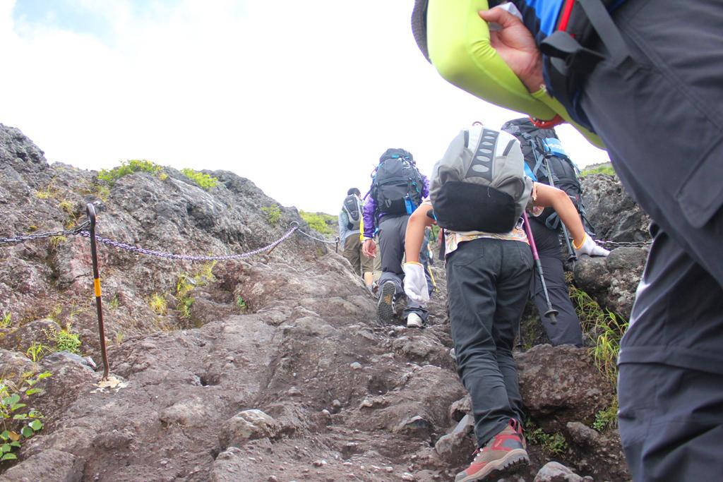 Mt. Fuji experience report (Yoshida route) Part1 (17)