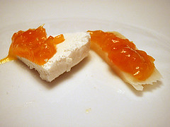 marmelada od mandarina sa svjezim i odlezanim sirom