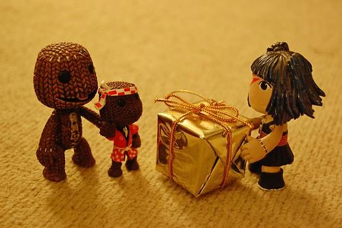 Sackpeople at Christmas