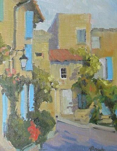 Nancy Franke sunny-afternoon-goult