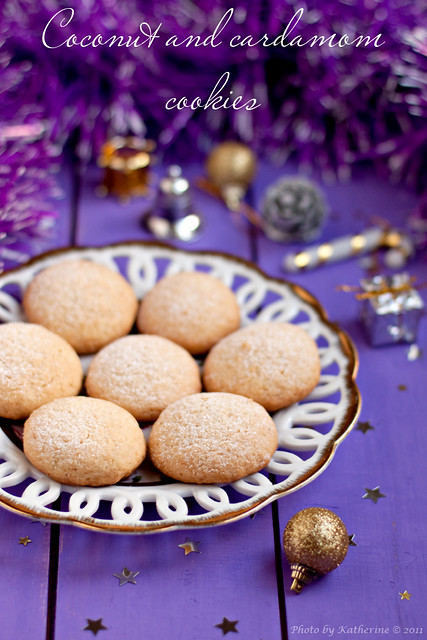 Coconut and cardamom cookies 2