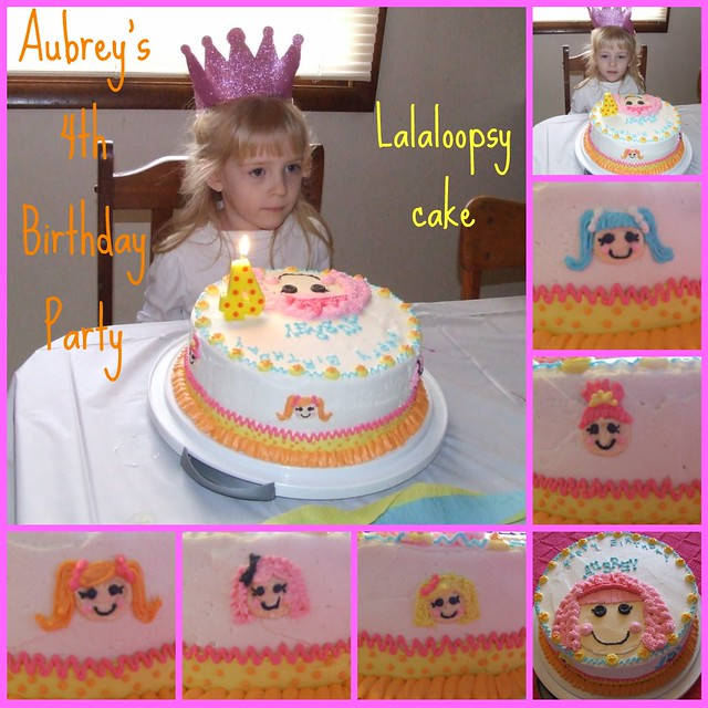 Lalaloopsy cake collage