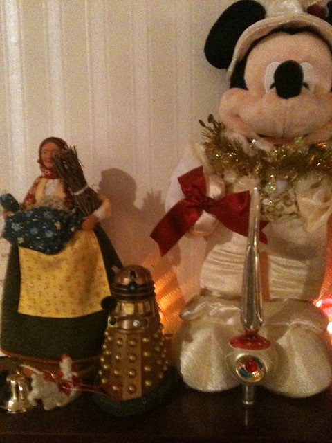 Mickey's mickey (and a Dalek)