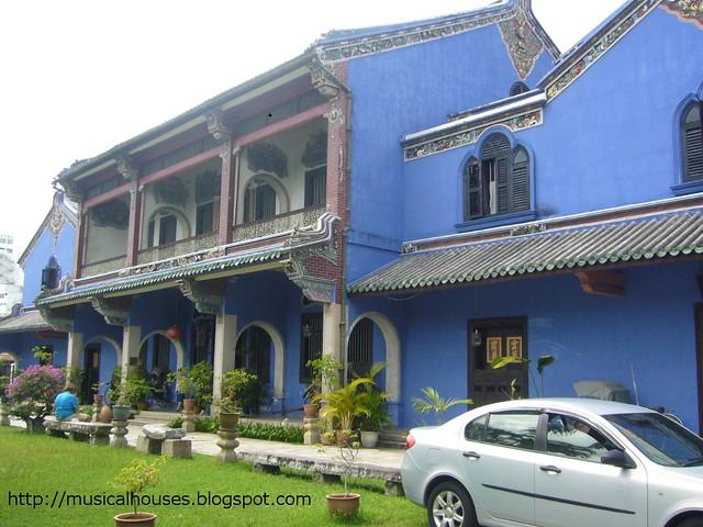 penang cheong tze fatt mansion