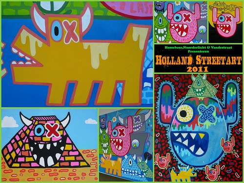 Holland Streetart 2011 - Ox-Alien