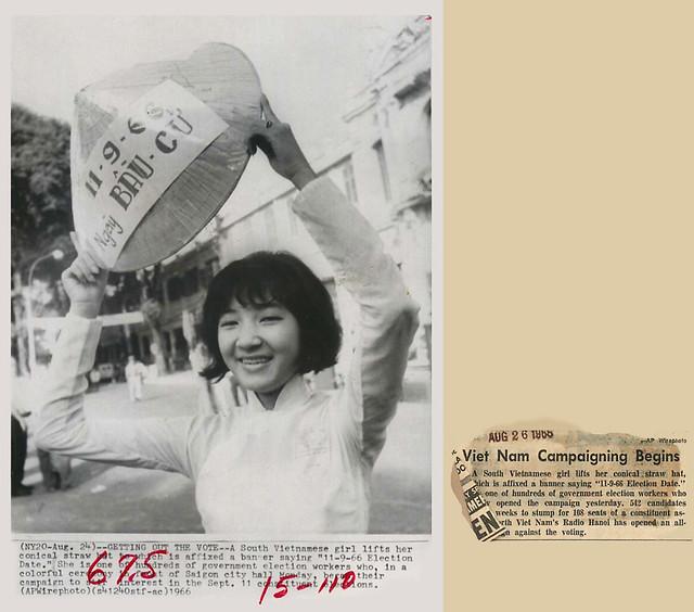 24/8/1966 - Chiến dịch tranh cử ở Nam VN bắt đầu
