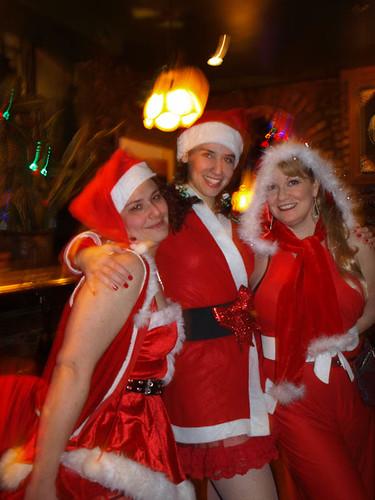 Santas at Hurley's