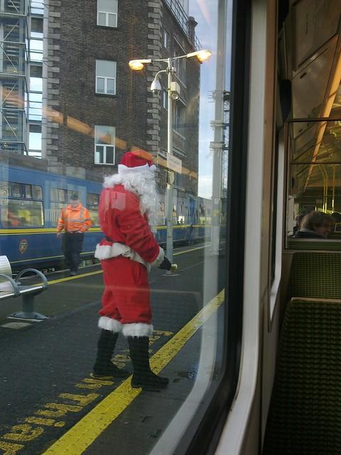 Santa in Dublin =)