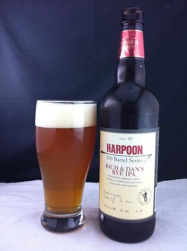 6539256499 f76601eaeb Harpoon Brewery   Rich & Dan's Rye IPA *