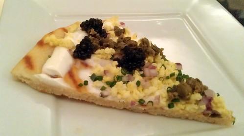 Caviar Flatbread