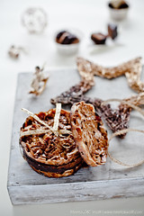 Christmas Cookies 2012 Almond and Peanut Florentines (0167) by Meeta K. Wolff
