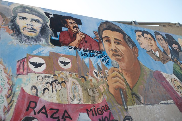 Chicano park restoration 2011 the city project for Chicano mural movement