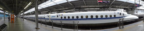 Shinkansen to Tokyo by girl from finito
