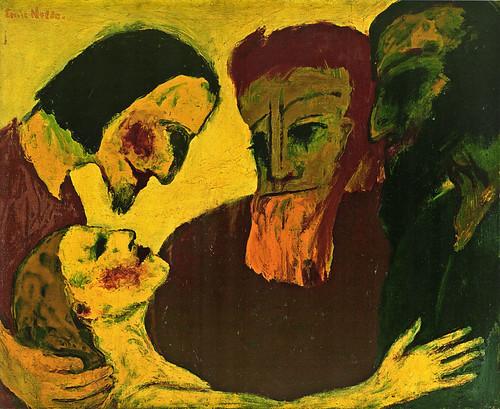 [ N ] Emil Nolde - Le Christ et la pecheresse (1926) by Cea.