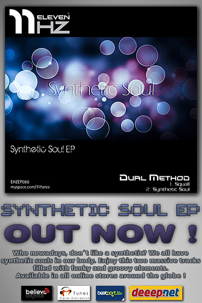 EHZEP081 - Dual Method - Synthetic Soul EP - 11Hz Recordings