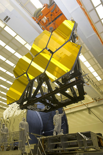 James Webb Space Telescope mirrors