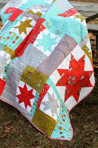 Little Apples Sparkling Cider Quilt by jenib320