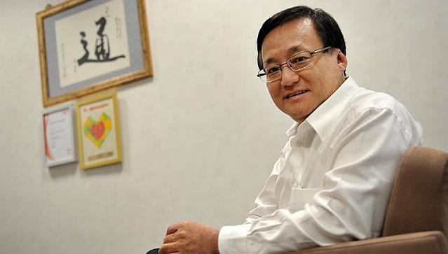 Seng Han Thong, MP at Ang Mo Kio GRC who speaks good English