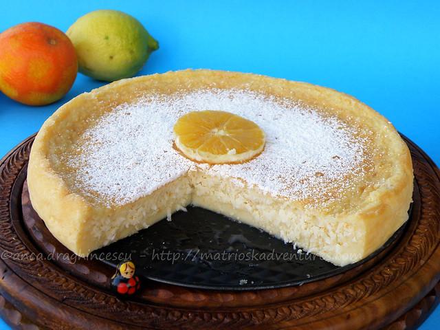 Ricetat con foto Torta esotica e agrumata  cocco arance