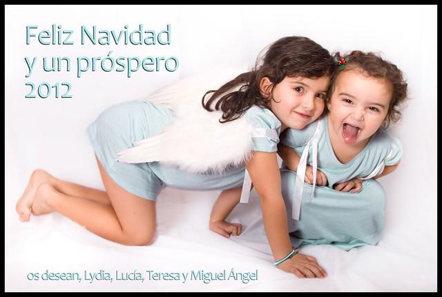 Feliz Navidad y Próspero 2012