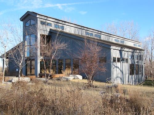 North Mississippi River Park Building