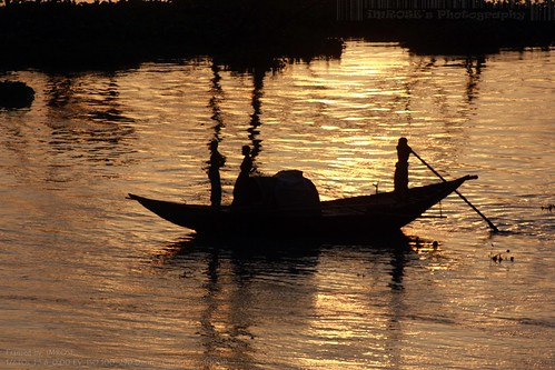 Fishing boat @ the dusk....