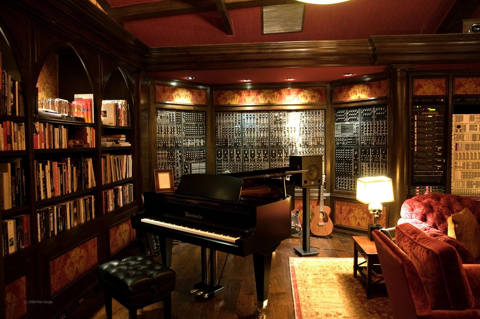 Hans Zimmer\'s Living Room is my dream living room   IGN Boards